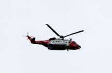 Coast Guard searches through the night for missing fisherman