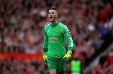 David de Gea has a release clause in his new contract for a pretty