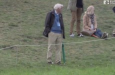 A spectator got nutmegged from 300 yards away at the KLM Open and didn't even notice