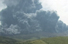 Tourists warned to stay away after Japan's biggest volcano blows its top