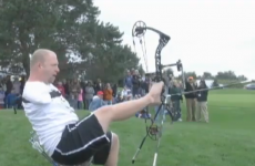 WATCH: 'Armless Archer' breaks Guinness World Record