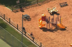 Mother charged after being found pushing dead son on park swings