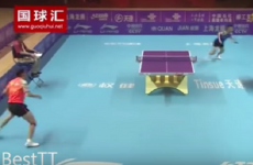 This 42-shot table tennis rally has to be seen to be believed