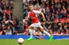Remember Jack Wilshere s little injury setback … turns out it was