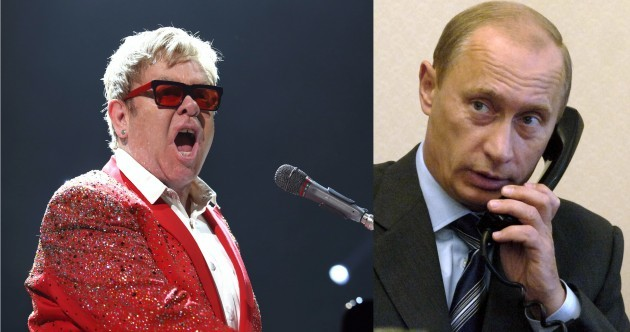 Listen: Elton John agrees to go to Moscow Pride parade in hoax call