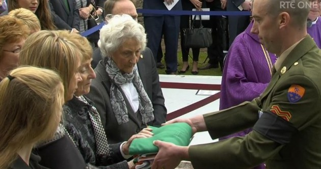 A solemn and poignant State funeral as Thomas Kent returns home after 99 years