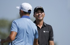 Jason Day had the whole night to think about this chip for a 59