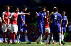 Diego Costa the centre of controversy again as Chelsea beat 9-man Arsenal