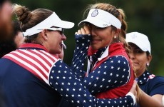 US golfer left in tears after Solheim Cup is marred by controversy