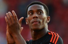 Anthony Martial better than expected, admits Neville