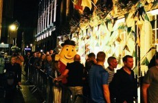 Mr Tayto went to Coppers last night to celebrate the All Ireland Final