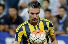 Robin van Persie is already 'not happy' after being left on the bench in Turkey