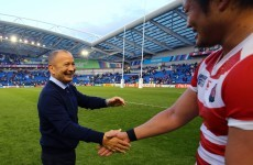 After beating South Africa, Japan coach Eddie Jones is heading there for a new job