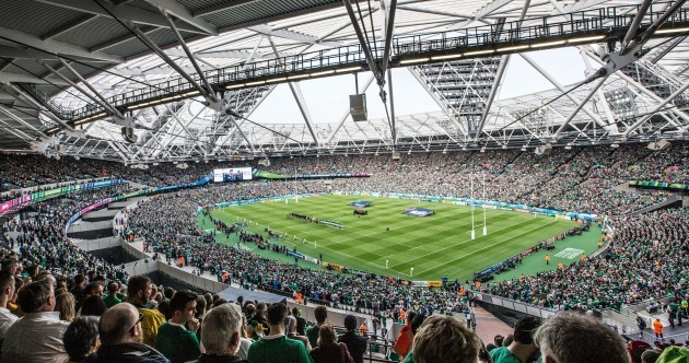 Ireland's World Cup win over Italy pulled in huge ratings for TV3