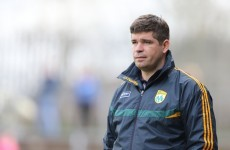 Eamonn Fitzmaurice confirmed to stay as Kerry boss next year