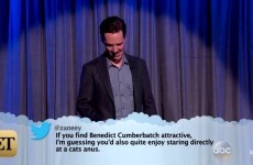 Benedict Cumberbatch had the sassiest response to a mean tweet about his looks