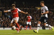 Who needs strikers? Flamini proves Arsenal's unlikely hero in North London derby