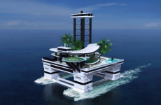 Forget mega yachts – this mobile private island just upped the ante on billionaire toys
