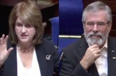Gerry Adams asked Joan Burton lots of questions - but she just wanted to throw shade