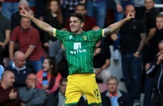 Irish pair Brady and Walters on target, Hoolahan tops Premier League assist charts