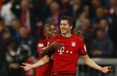 Another game, another goalscoring record for Bayern's Robert Lewandowski