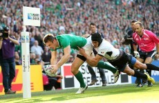 As it happened: Ireland v Romania, Rugby World Cup