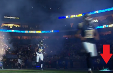 NFL game delayed after fireworks set the pitch on fire