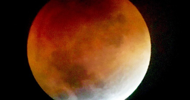 Photos: Didn't manage to see the blood moon last night? Here is what you missed...