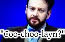 The Irish language was mangled on last night's University Challenge
