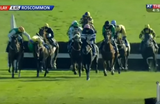 A brilliant piece of sportsmanship from racing at Roscommon yesterday