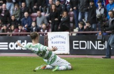Celtic's Leigh Griffiths fined over 'refugee' song about Rudi Skacel