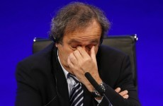 Recently seen as the man to save Fifa, Michel Platini is now on very thin ice