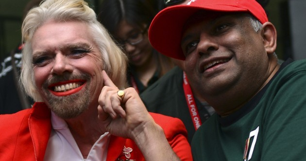 Richard Branson is no stranger to mad publicity stunts. Here are some of his best ones