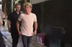 Niall Horan got pure sassy with annoying paparazzi last night