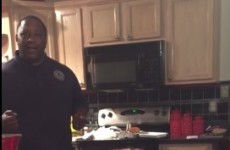This guy just found out he was going to be a Dad after 17 years of trying
