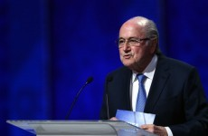 Blatter stands firm despite Coca Cola, Visa and McDonald's demanding resignation