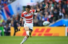 Japan beat Samoa to stay in the hunt for a World Cup quarter-final berth
