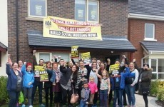 Homeless families occupy show house in west Dublin