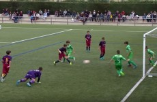 This piece of magic from Barca's youths is the only goal you need to see today