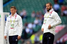 England assistant Farrell denies undue influence in picking son Owen
