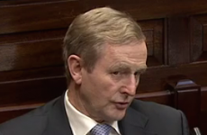 Enda was given a perfect opportunity to rule out an early election today