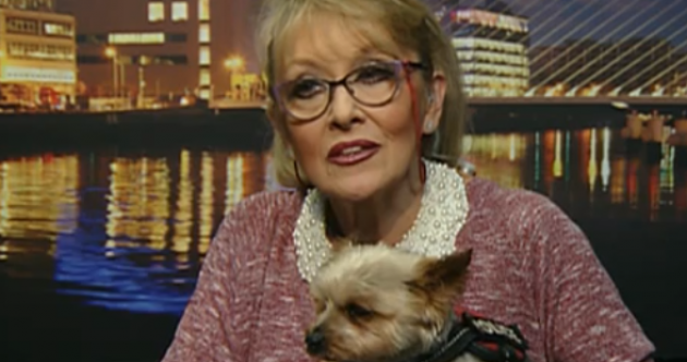 Clairvoyant Derek Acorah did a reading on Twink's dog Teddy on RTÉ today