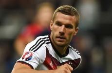 Veteran German striker to miss Thursday's clash with Ireland