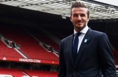 'Manchester United won't end up like Liverpool' - David Beckham
