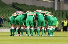 What team should Ireland start for tomorrow's Euro 2016 qualifier against Germany?