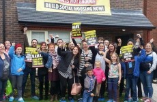 Ruth Coppinger and her supporters have ended their occupation of a show-home