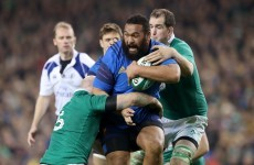 'For Jared Payne, it was 10 times harder than for me' – France's gigantic Atonio