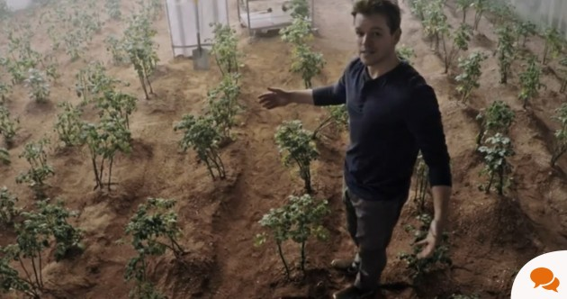 Matt Damon used manure to grow potatoes on Mars – it works pretty well down here too
