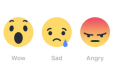 Facebook is introducing emoji reaction buttons - and Ireland is first to get them