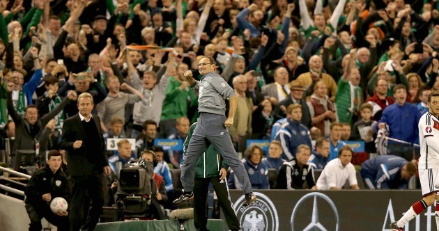 It's time for Irish football fans to embrace positivity after last night's stunning result